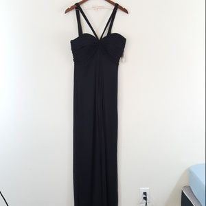 Alex Evenings NWT Chiffon Sweetheart Halter Gown